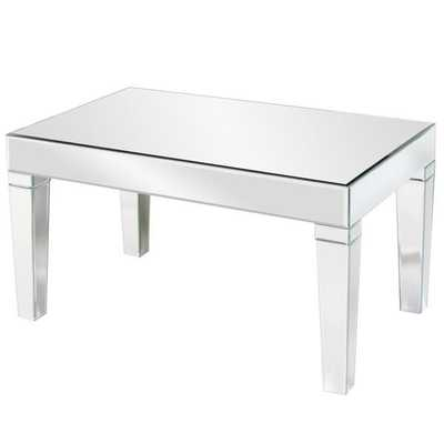 Allan Andrews Mirrored Coffee Table - Overstock
