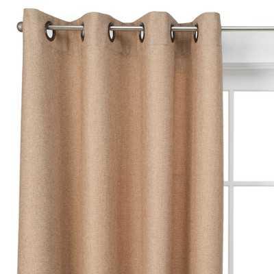 """Basketweave Curtain Panel - Beige - 54"""" x 95"""" - Target"""