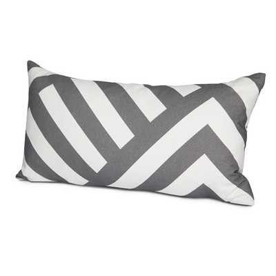Zara Cotton Lumbar Pillow - AllModern