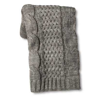 "Thresholdâ""¢ Cable Knit Throw - Target"