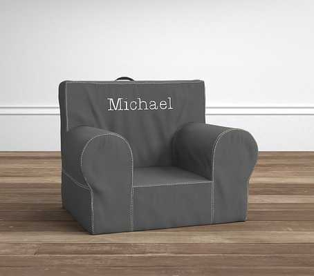 With Khaki Stitch Anywhere Chair - Pottery Barn Kids