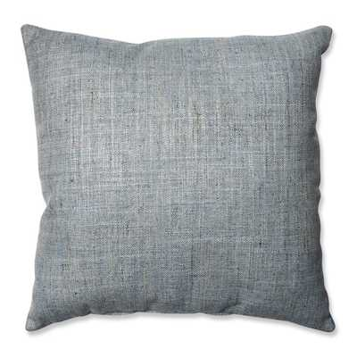 """Pillow Perfect Handcraft Nile Throw Pillow, 18""""sq, Blue, Polyester fill - Overstock"""