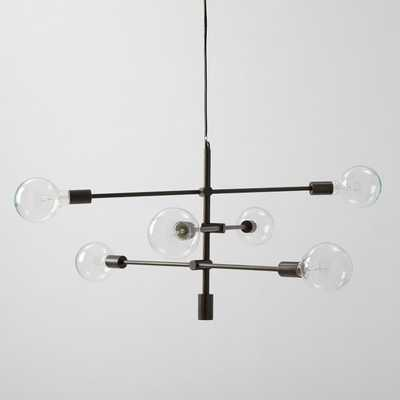 Mobile Chandelier - Large - Antique Bronze - West Elm