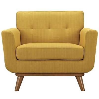 Engage Arm Chair - Citrus - AllModern