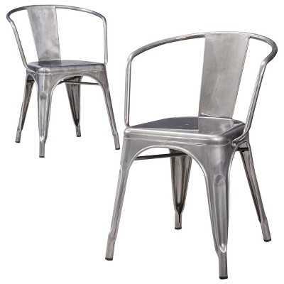 Carlisle Metal Dining Chair (Set of 2) - Target