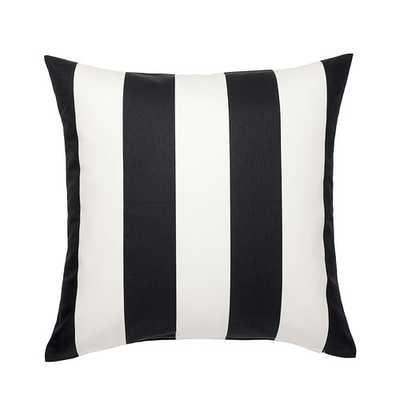 VÃ…RGYLLEN Cushion cover - white - black - Ikea