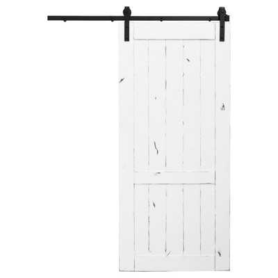 Country Vintage Barn Door without Hardware - Wayfair