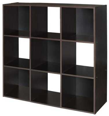 9-CUBE ORGANIZER - Espresso - Home Decorators