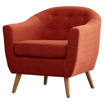 Laurence Arm Chair - Orange - AllModern