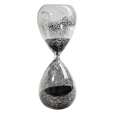 Mercury Hourglass - Black - Wayfair