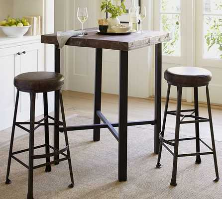 Griffin Reclaimed Wood Bar-Height Table - Pottery Barn