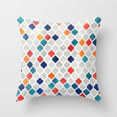 Sea & Spice Moroccan Pattern - Society6