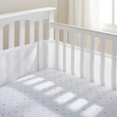 Breathable Baby Solid Mesh Crib Liner - Target