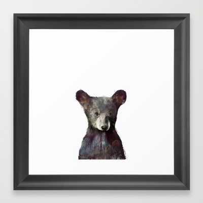 "Little Bear - Framed - 12"" x 12"" - Society6"