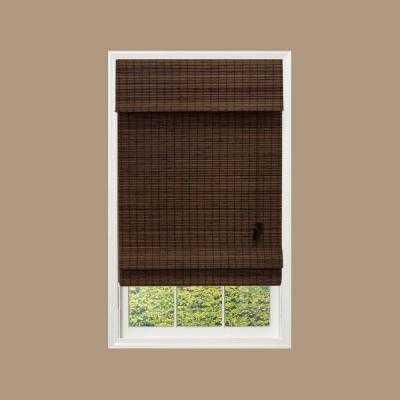 Flatweave Bamboo Roman Shade - Home Depot