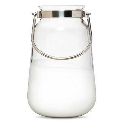"""Nate Berkusâ""""¢ Large Dipped Glass Lantern - White - Target"""