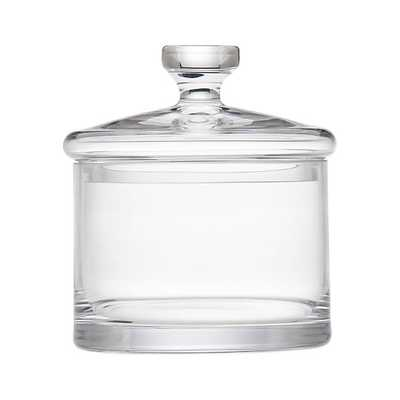 Medium Glass Canister - Crate and Barrel
