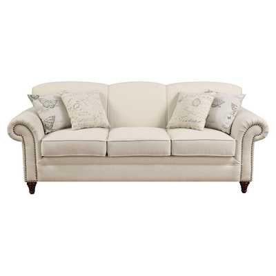 Cosette Sofa in Oatmeal - Wayfair