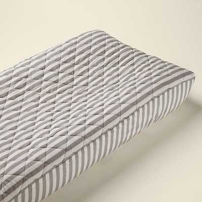 In the Mix Changing Pad Cover (Stripe) - Land of Nod