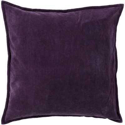 Smooth Velvet Cotton Throw Pillow - Wayfair