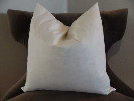 "18"" Feather/Down Pillow Insert - Etsy"