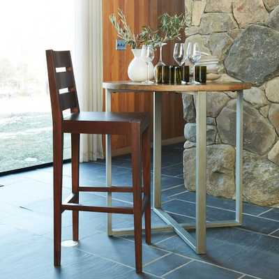 Rustic Round Counter Table - West Elm