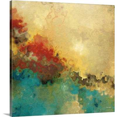 "What is Unseen is Eternal Gallery Painting Print - 30"" H x 30"" W x 1.5"" D  - Unframed - Wayfair"