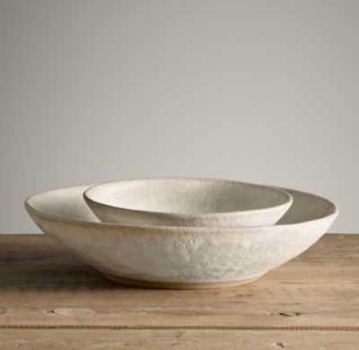 Stoneware Nesting Bowl - Large - RH