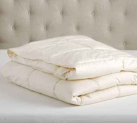 NATURAL DOWN-ALTERNATIVE DUVET INSERT, CLASSIC - KING - Pottery Barn