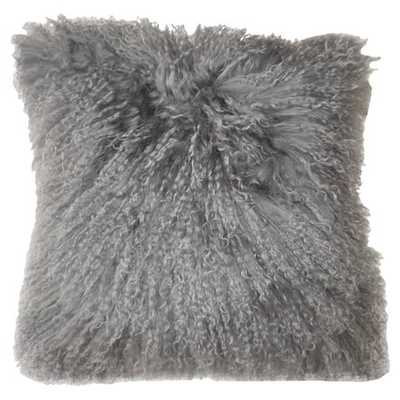 Janis Pillow in Grey - jossandmain.com