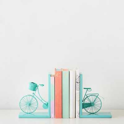 Bicycle Book Ends - Pottery Barn Teen