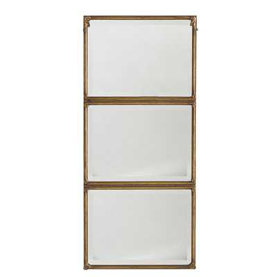 Stacked Panel Mirror - Wisteria