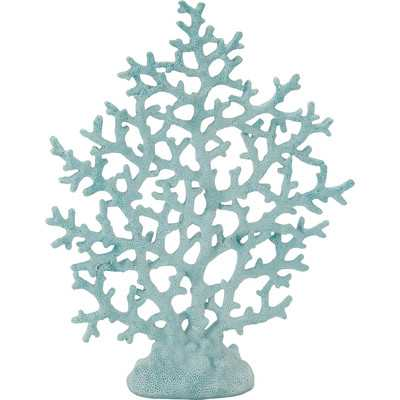 Coral Decor in Light Blue - Wayfair