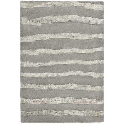 Soho Grey Area Rug - Wayfair