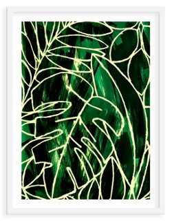 """As Collective, Leafy II - 13""""L x 15""""H - framed - One Kings Lane"""