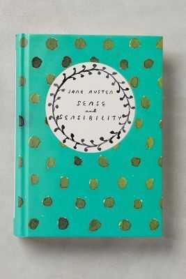 Jane Austen Classic Novels-Sense & Sensibility - Anthropologie