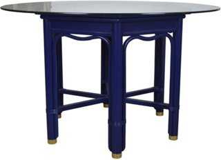 Ficks Reed Lacquered Dining Table - One Kings Lane