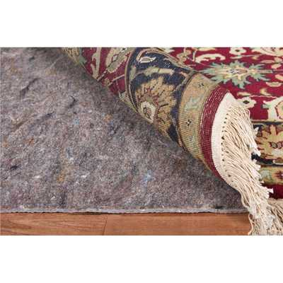 Deluxe Hard Surface and Carpet Oval Rug Pad - Overstock