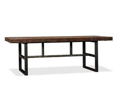 Griffin Reclaimed Wood Fixed Dining Table - Pottery Barn