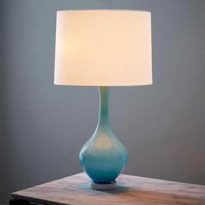 Rejuvenation Colored Glass Table Lamp - West Elm