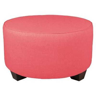 Skyline Custom Upholstered Round Cocktail Ottoman - Target