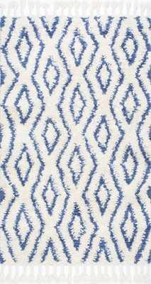 Savanna Moroccan Diamonds Shag Rug - Rugs USA