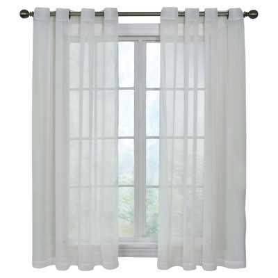 "Pinole Point Single Curtain Panel- 95"" H x 59"" W - Wayfair"