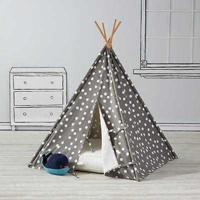 Speckled Teepee & Cushion Set - Land of Nod