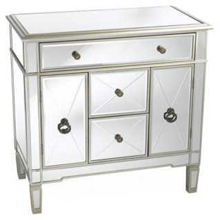 Large Hope Mirrored Cabinet - One Kings Lane