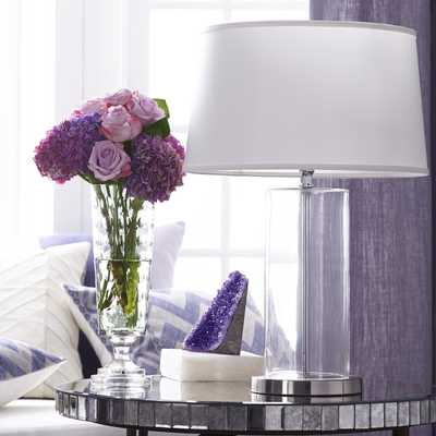 BULLET GLASS TABLE LAMP – LUCID - Wisteria
