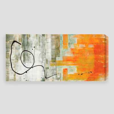 """""""The Abstracted"""" - 48"""" x 23"""" - Framed - World Market/Cost Plus"""
