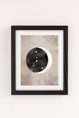 Claire Goodchild Moon & Stars Cancer Art Print-13X19-Framed - Urban Outfitters