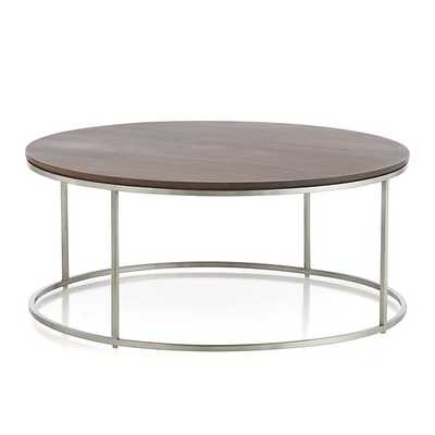 Frame Round Coffee Table - Crate and Barrel