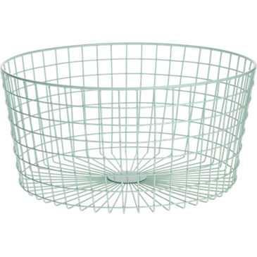 Gridlock small mint basket. - CB2